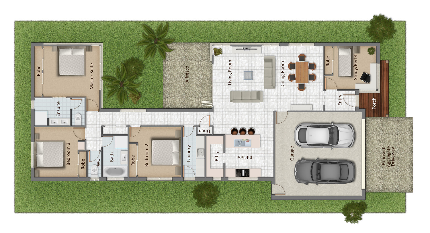 Fairway Floorplan