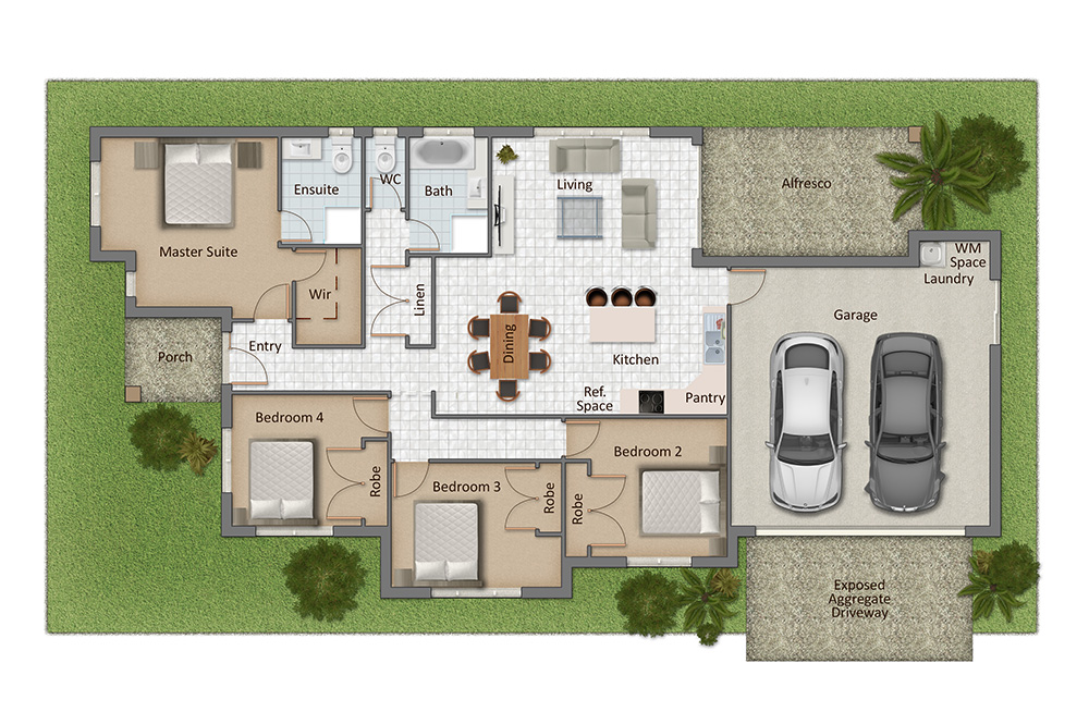 Windjana Floorplan