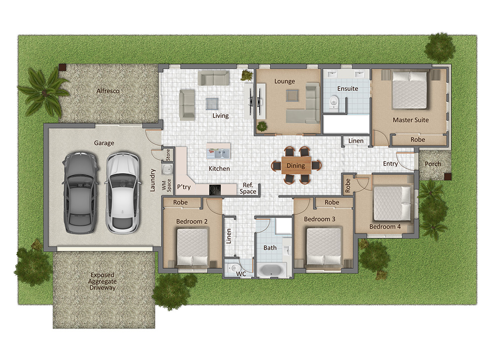 Glenvale Floorplan