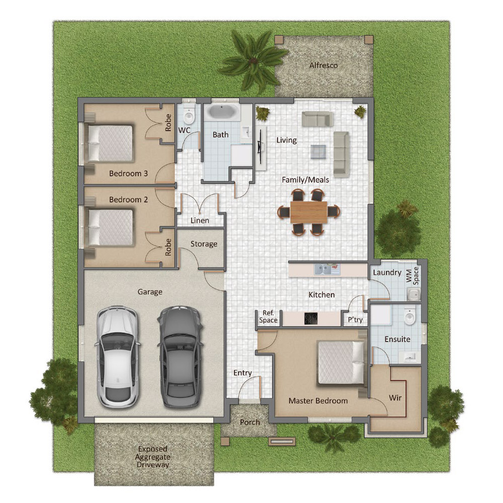Bridgeman Floorplan