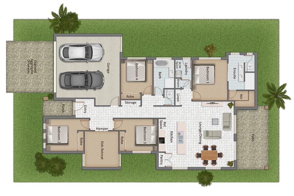 Daydream Floorplan
