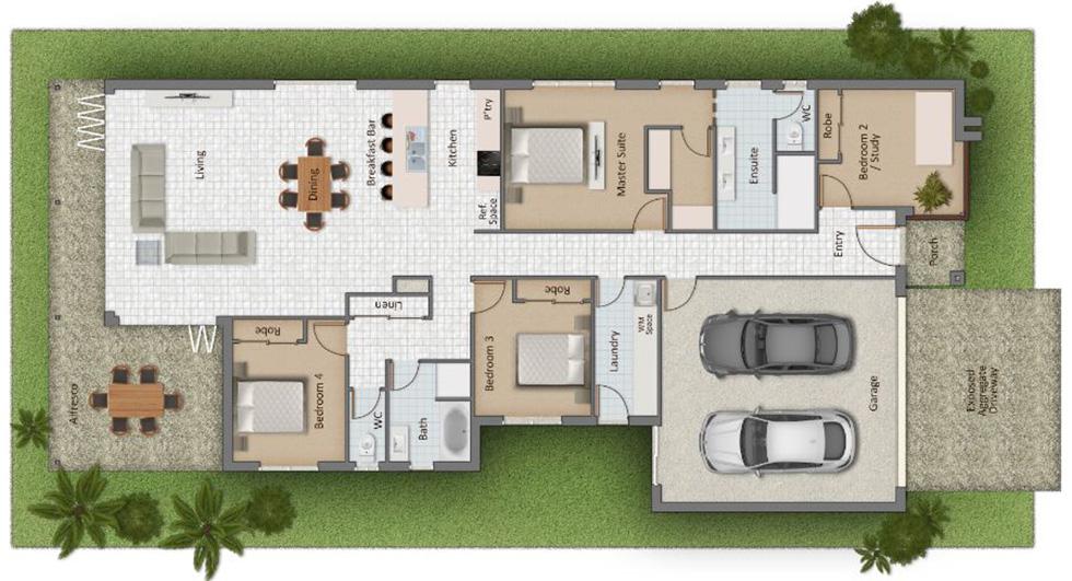 Delaine Floorplan