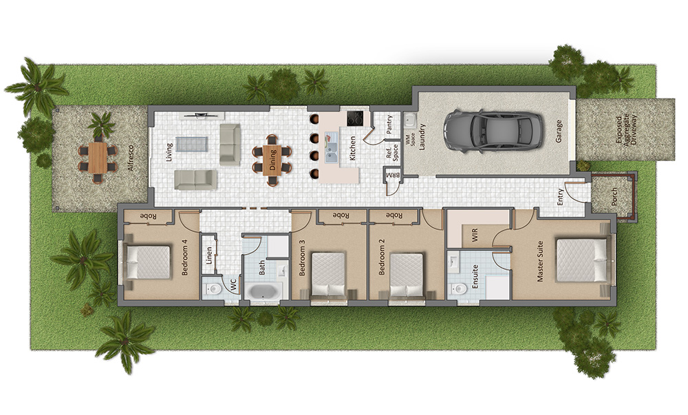 Riverwood Floorplan