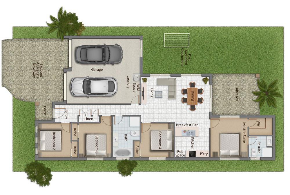 Whalan Mk I Floorplan