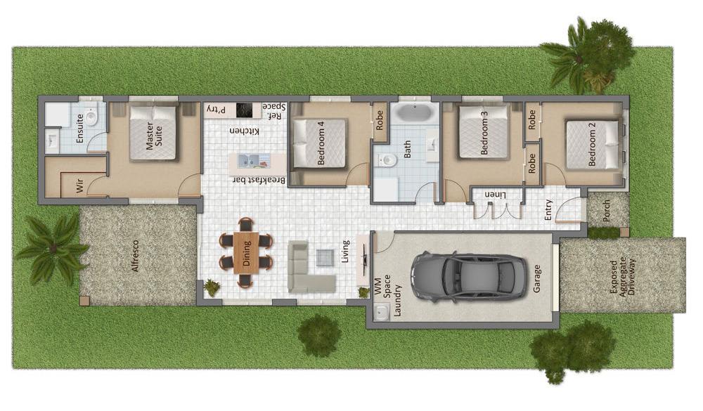 Whalan Mk 2 Floorplan