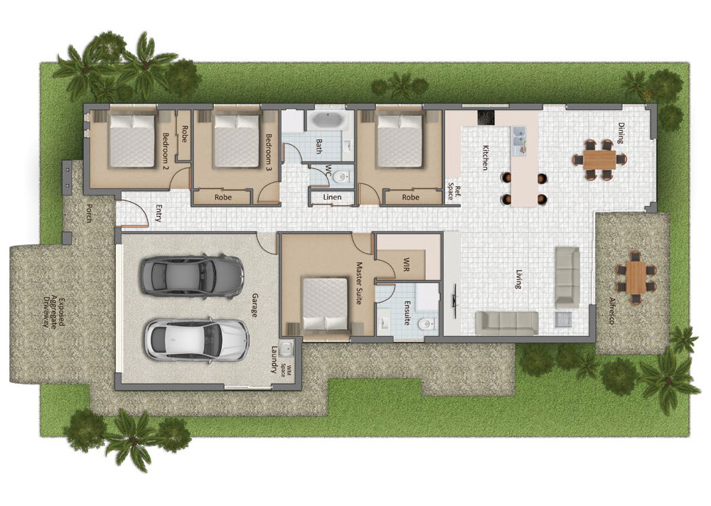 Wyampa Floorplan