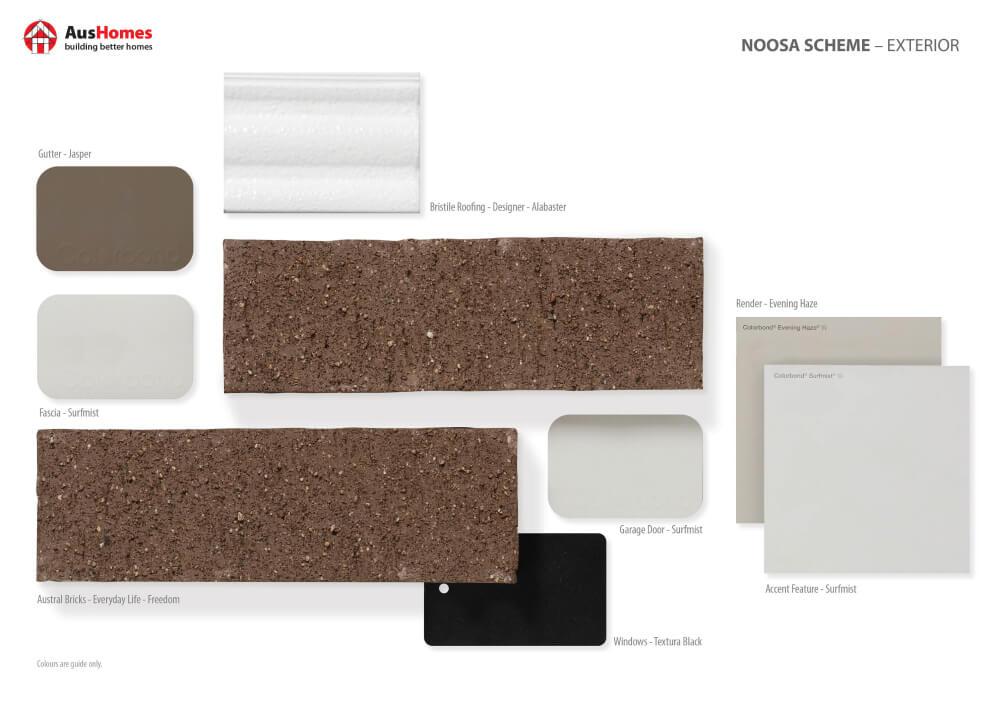 Noosa Exterior Colour Scheme