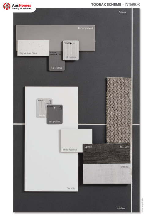 Toorak Colour Board